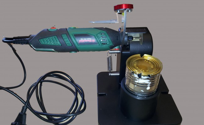 Комплект оборудования для контроля качества закаточного шва консервной банки