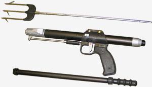 Ружье пневматическое для подводной охоты «РПП-2» и «РПП-2М»